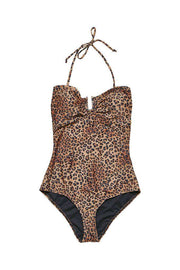 Kelly Swimsuit - Leopard - Gestuz