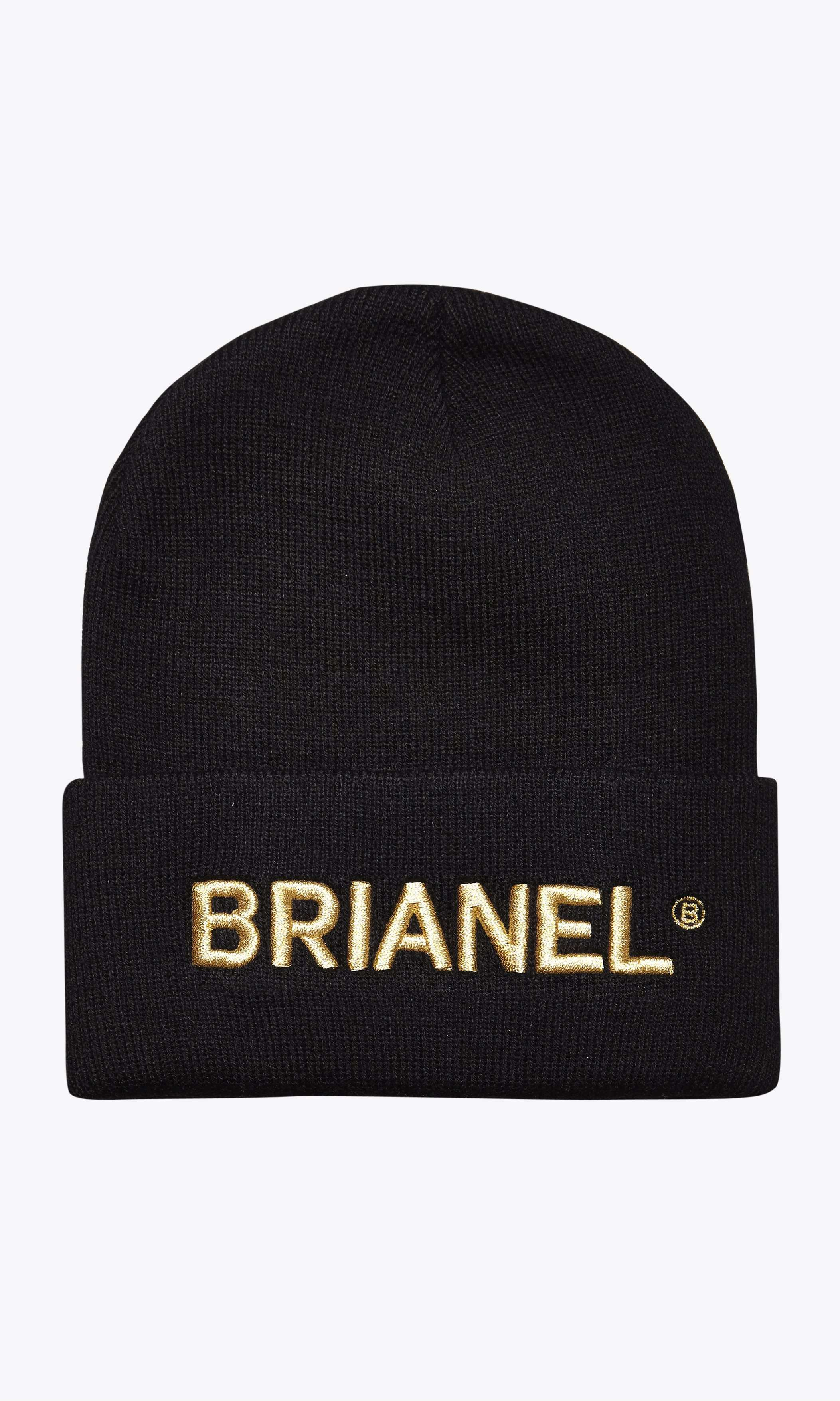 Image of   BRIANEL BEANIE HUE - SORT/HVID One Size