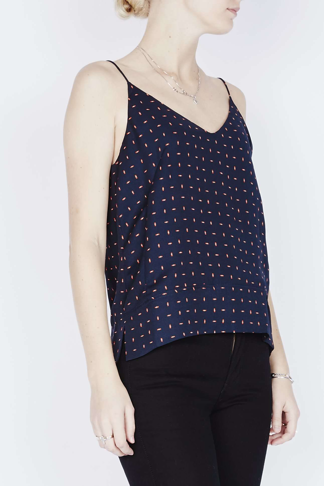 Image of   BIAF TOP AOP 3903 - Navy - NAVY XS