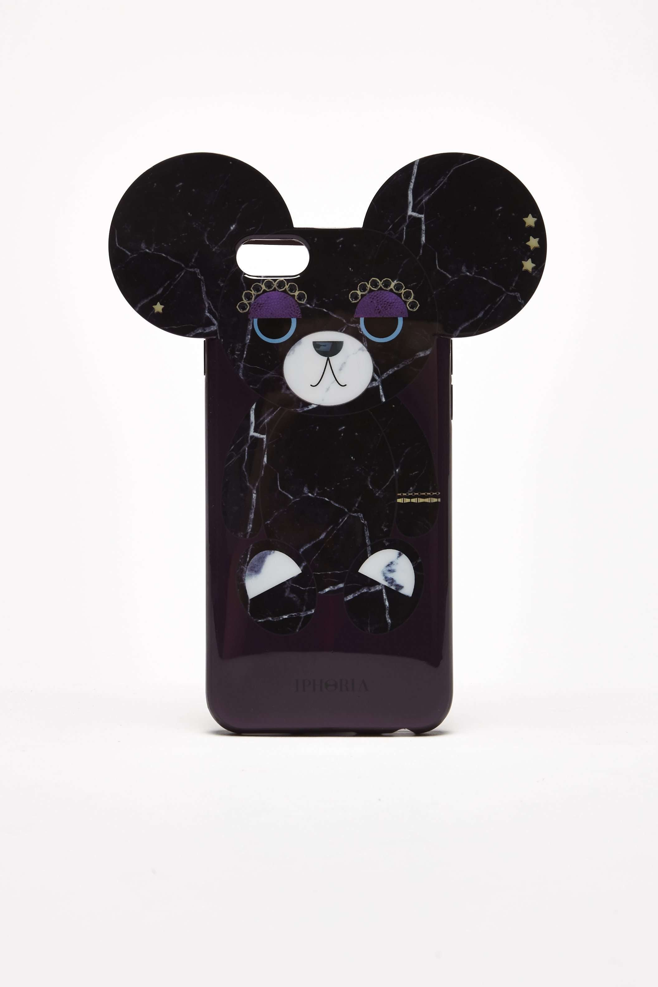 Billede af TEDDY BEAR FOR IPHONE 6/6S - SORT One Size