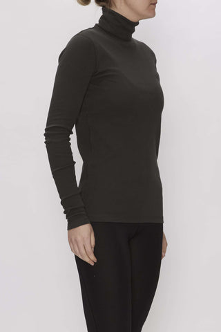 Rosalyn turtleneck - Army - Wood Wood
