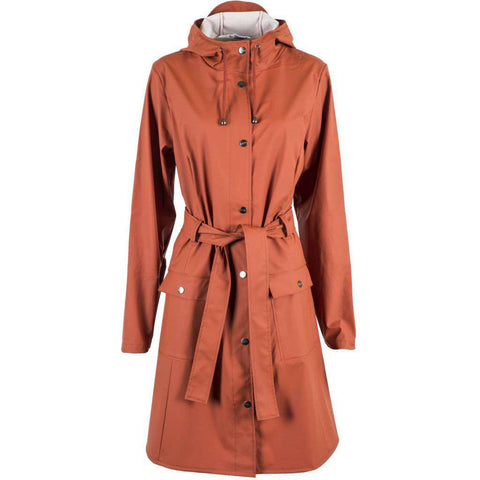 Curve Jacket - Rust