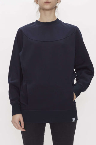 XbyO sweater i navy fra Adidas Originals