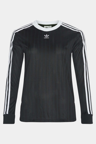 3 Striped Long Sleeve t-shirt i sort med striber og logo fra Adidas Originals 1