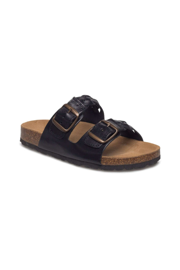 Cara Leather sandal i Black fra Shoe The Bear 4
