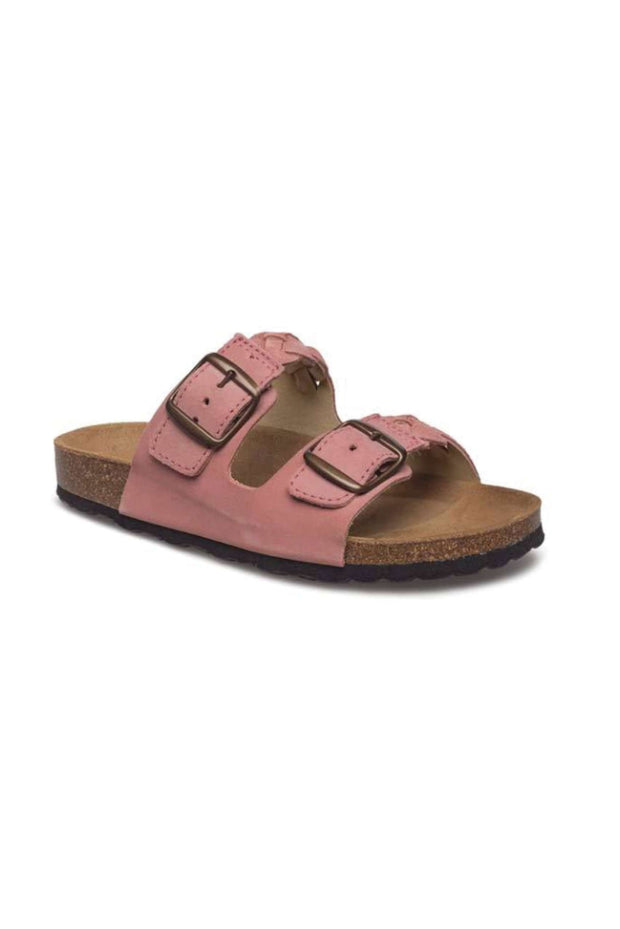 Cara Suede sandal i Rose fra Shoe The Bear 5