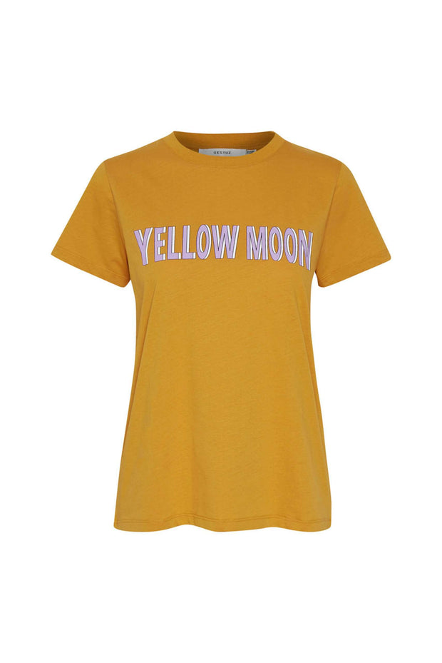 MoonGZ tee - Narcissus Yellow - Gestuz
