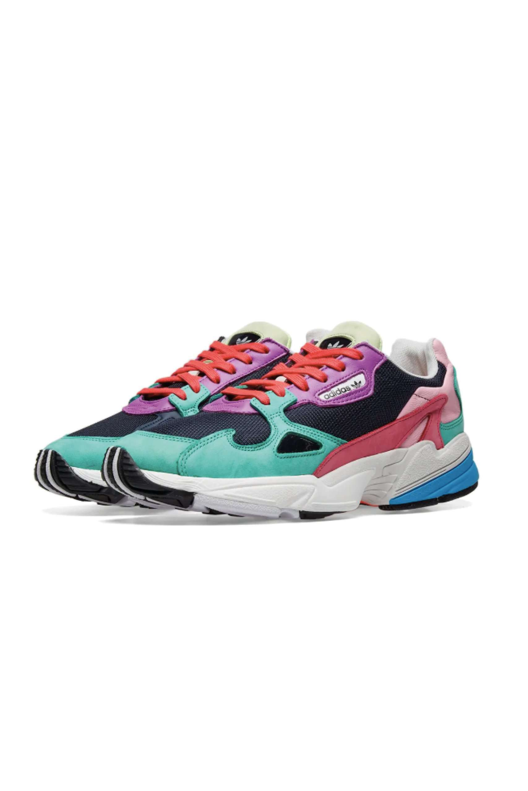 adidas's Falcon Gets a Cozy Multicolor Scheme | Sneakers