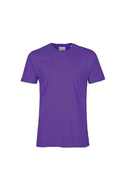 Light Organic Tee - Ultra Violet 4