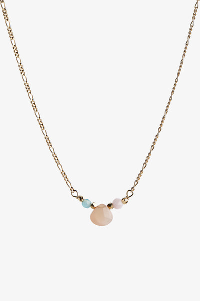 Candy Drop Necklace - Gold - Stine A