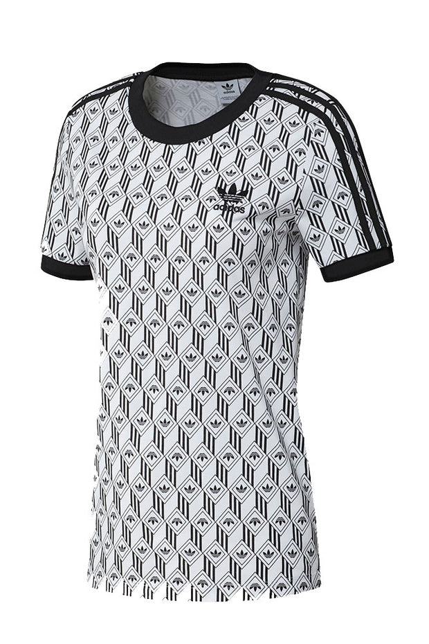 3 stripes tee - White/black - Adidas Originals
