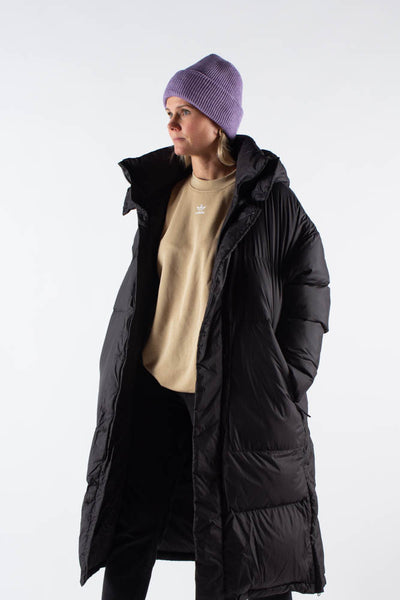 300-Wide Down Jacket - Black - SHU