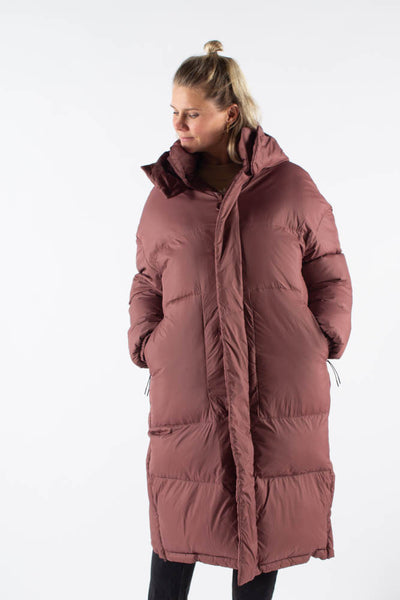 300-Wide Down Jacket - Bordo - SHU