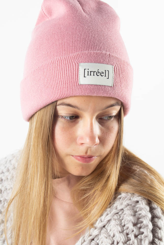 Adeline Beanie - Pink - irréel - Pink One Size