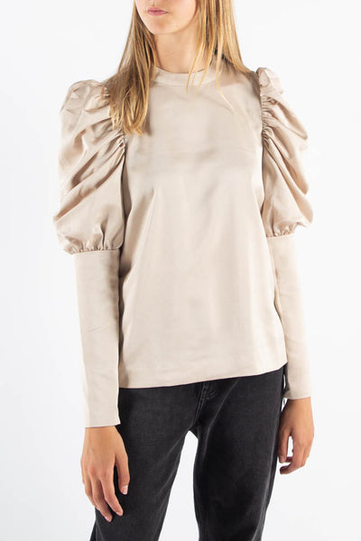 Almacras Blouse - Toasted Almond - Cras