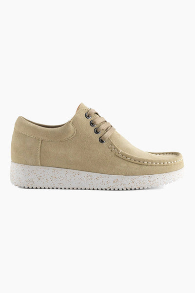 Anna Suede - Dusty Green - Nature Footwear