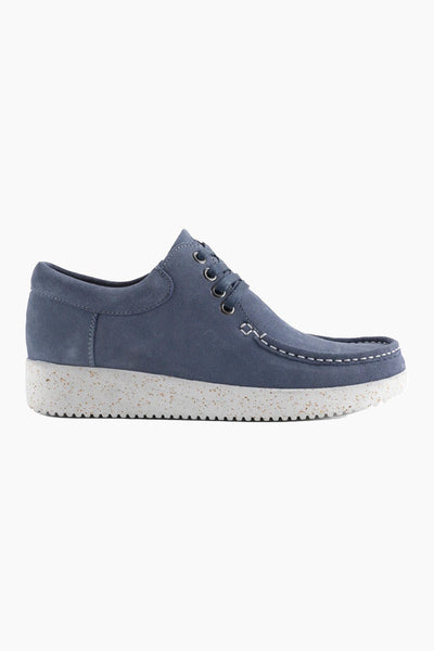 Anna Suede WR - Nordic Blue - Nature Footwear