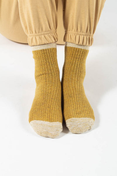 Asma socks - Carry/Gold - irréel