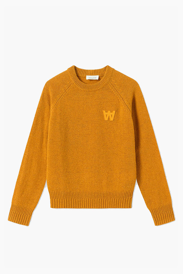 Asta Sweater - Mustard - Wood Wood
