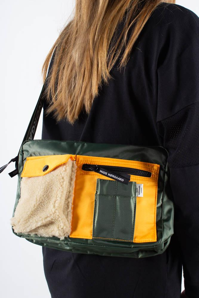 Bel Couture Cappa Cargo - Army/Orange - Mads Nørgaard - Army One Size