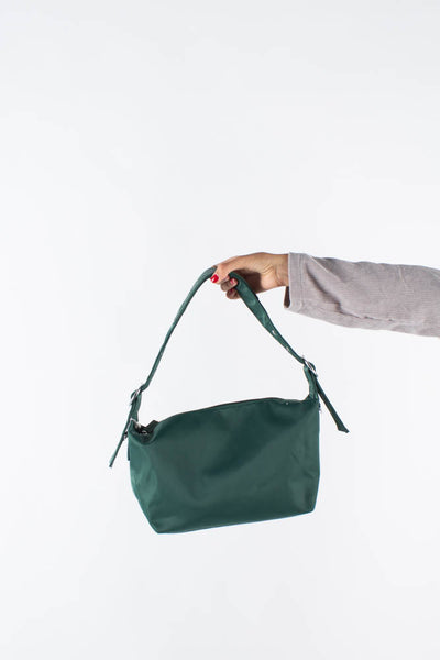 Bibbi crossbody - Dark Green - Silfen Studio