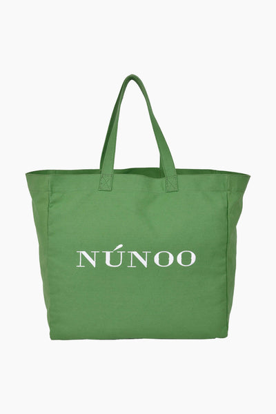 Big Tote Recycled Canvas - Grass - Núnoo