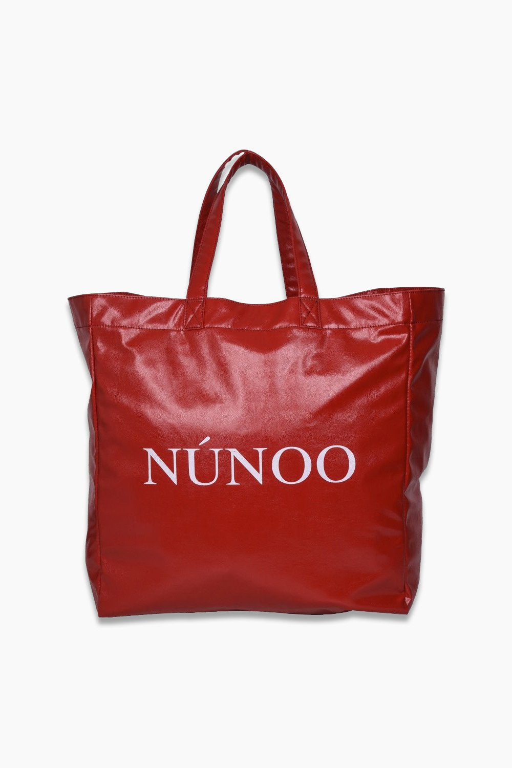 Big Tote Veggie - Red - Núnoo - Rød One Size