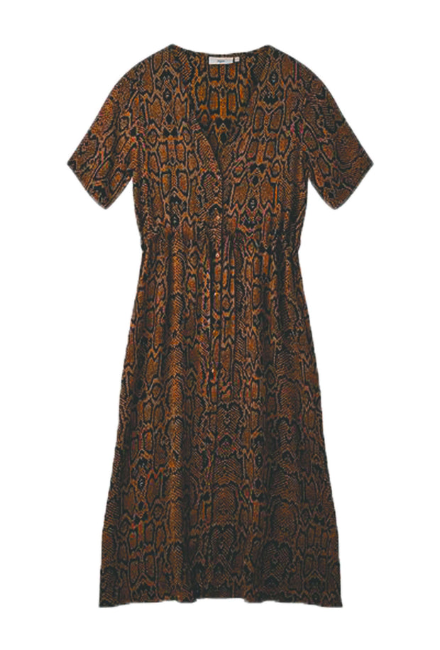 Biola Dress - Tobacco Brown - Minimum