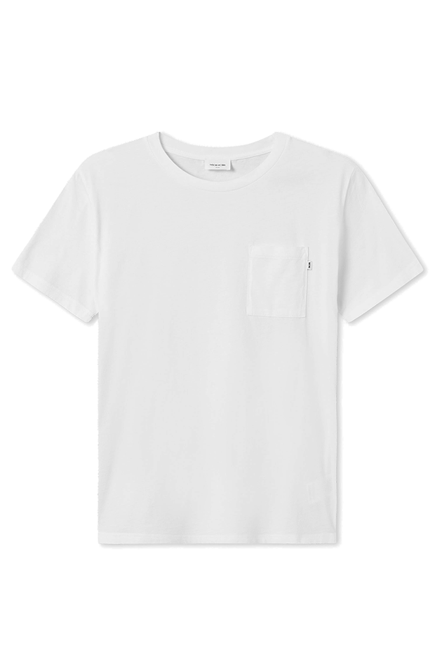 Bobo T-shirt - Bright White - Wood Wood