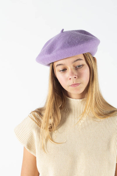 Candice Beret - Purple - irréel