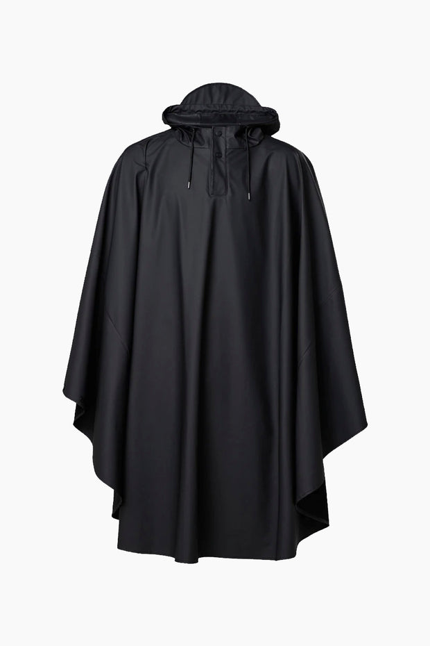 Cape Jacket - Black - Rains