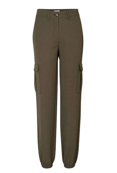 Carine Cargo Pants - Leaf - 2ND ONE
