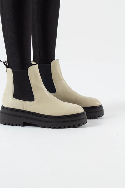 Cash Chelsea Boot - Off White - Phenumb Copenhagen