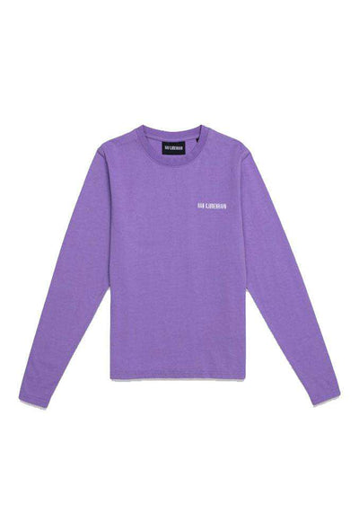 Casual Tee Long Sleeve - Purple - Han Kjøbenhavn
