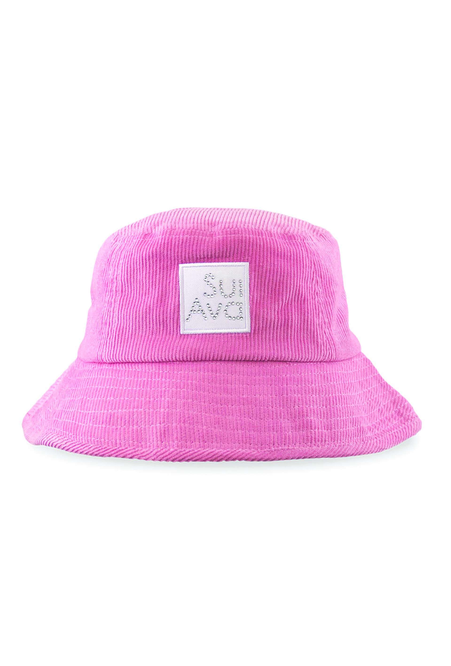 Christina Corduroy Buckethat - Pink - Sui Ava - Pink One Size