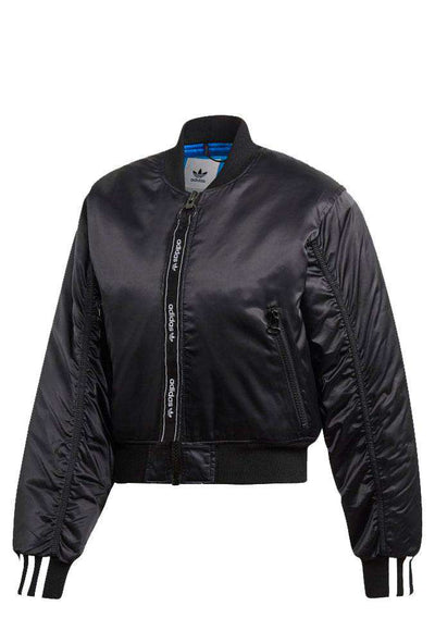 Cropped bomber - Black - Adidas Originals