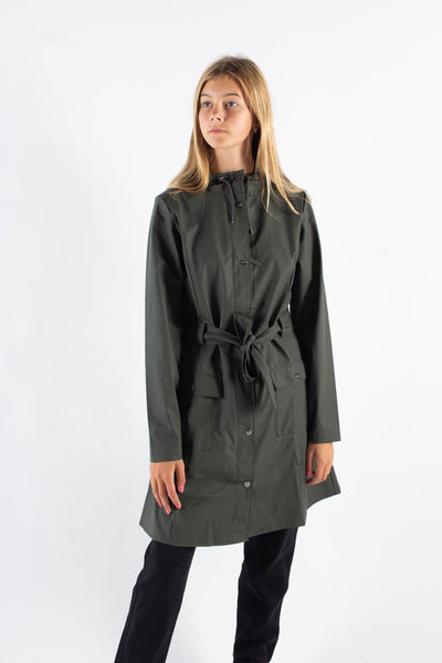 Curve Jacket - Green - Rains