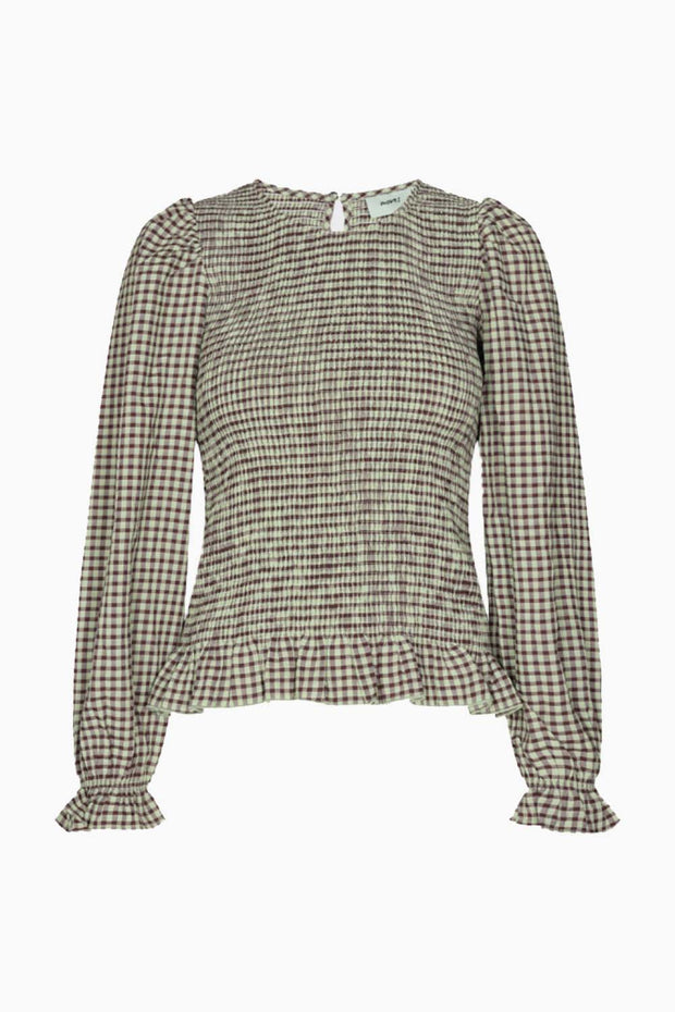 Danima long sleeved blouse  - Mint Green - Moves