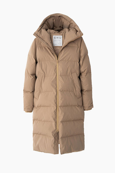 Down Jacket - Beige - SHU
