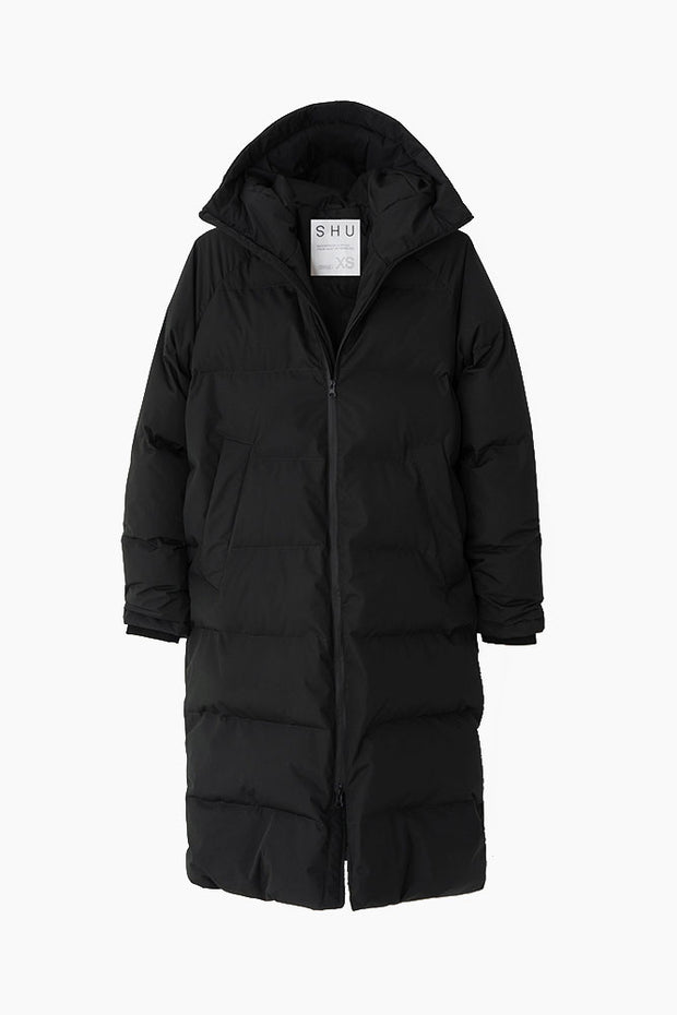 Down Jacket - Black - SHU 1