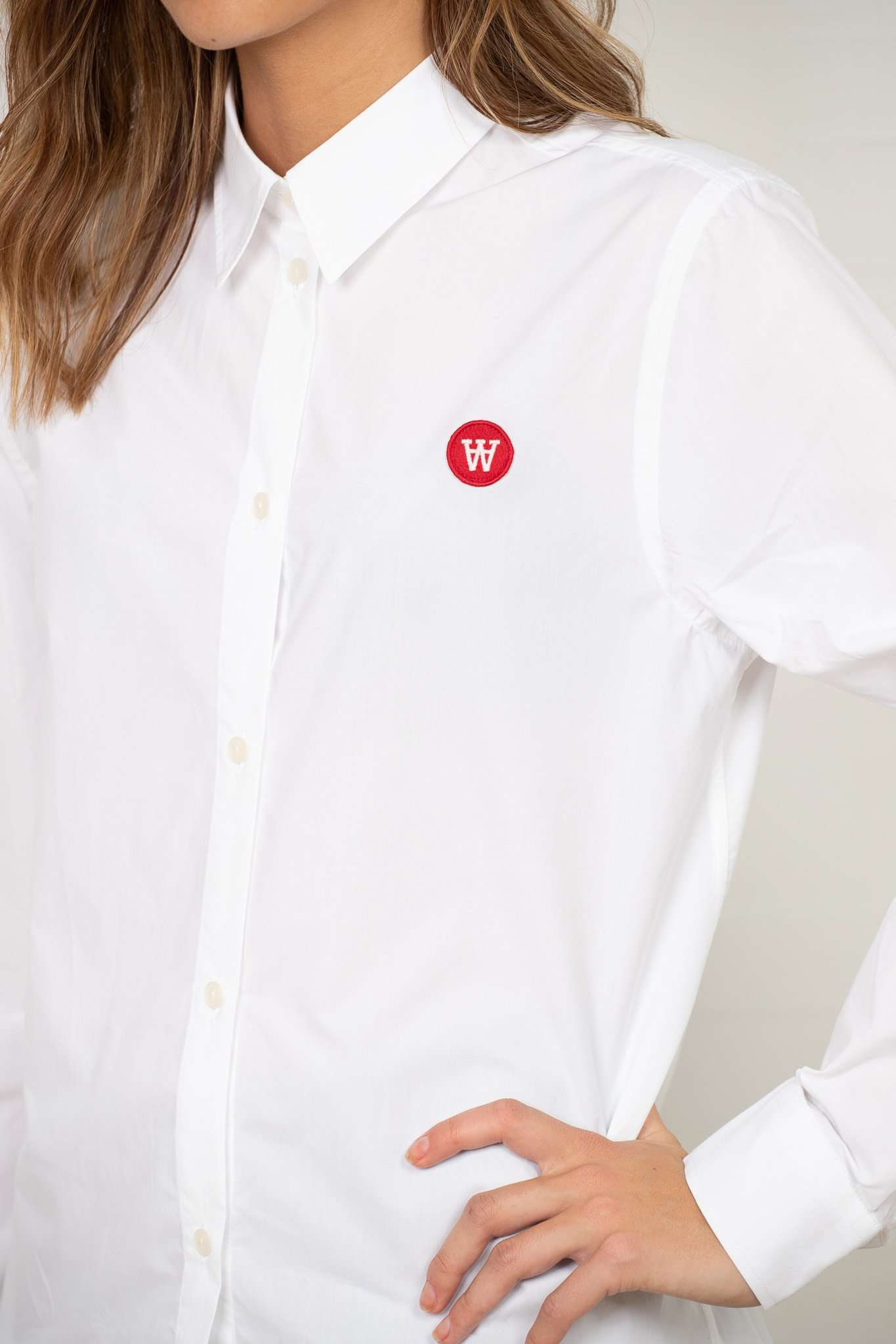 Image of   Fae Shirt Hvid - Bright White 34