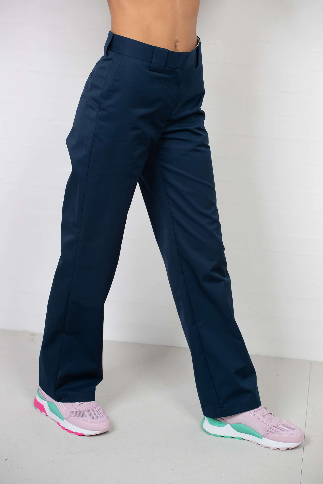 Veneda Trousers - Navy - Navy/Blå XL