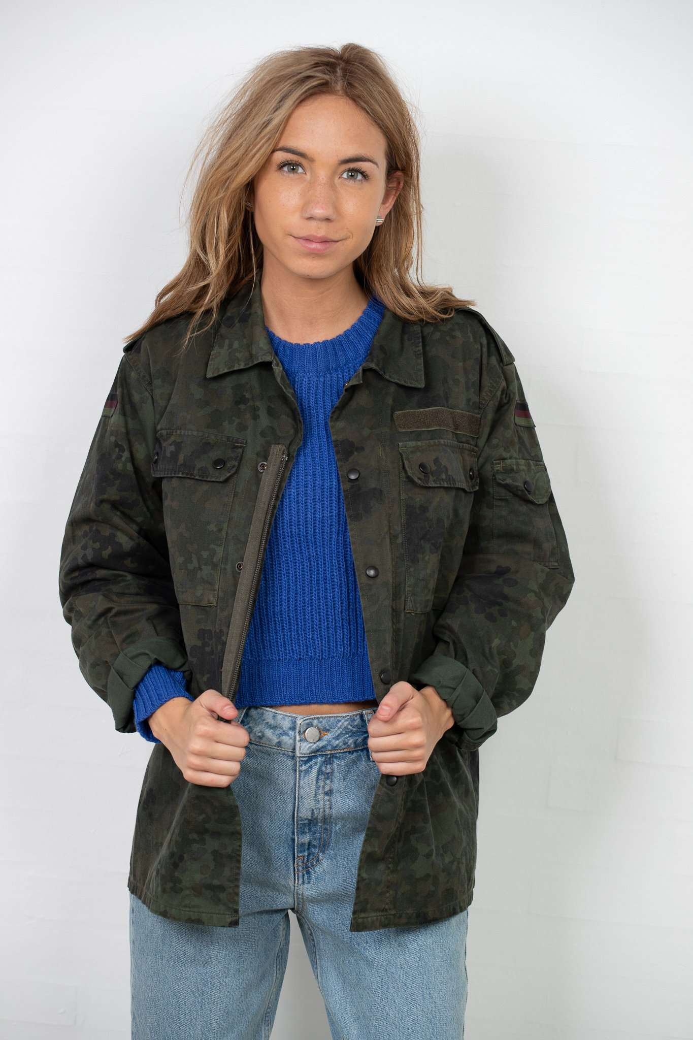 Image of   Army Jacket - m/l Army