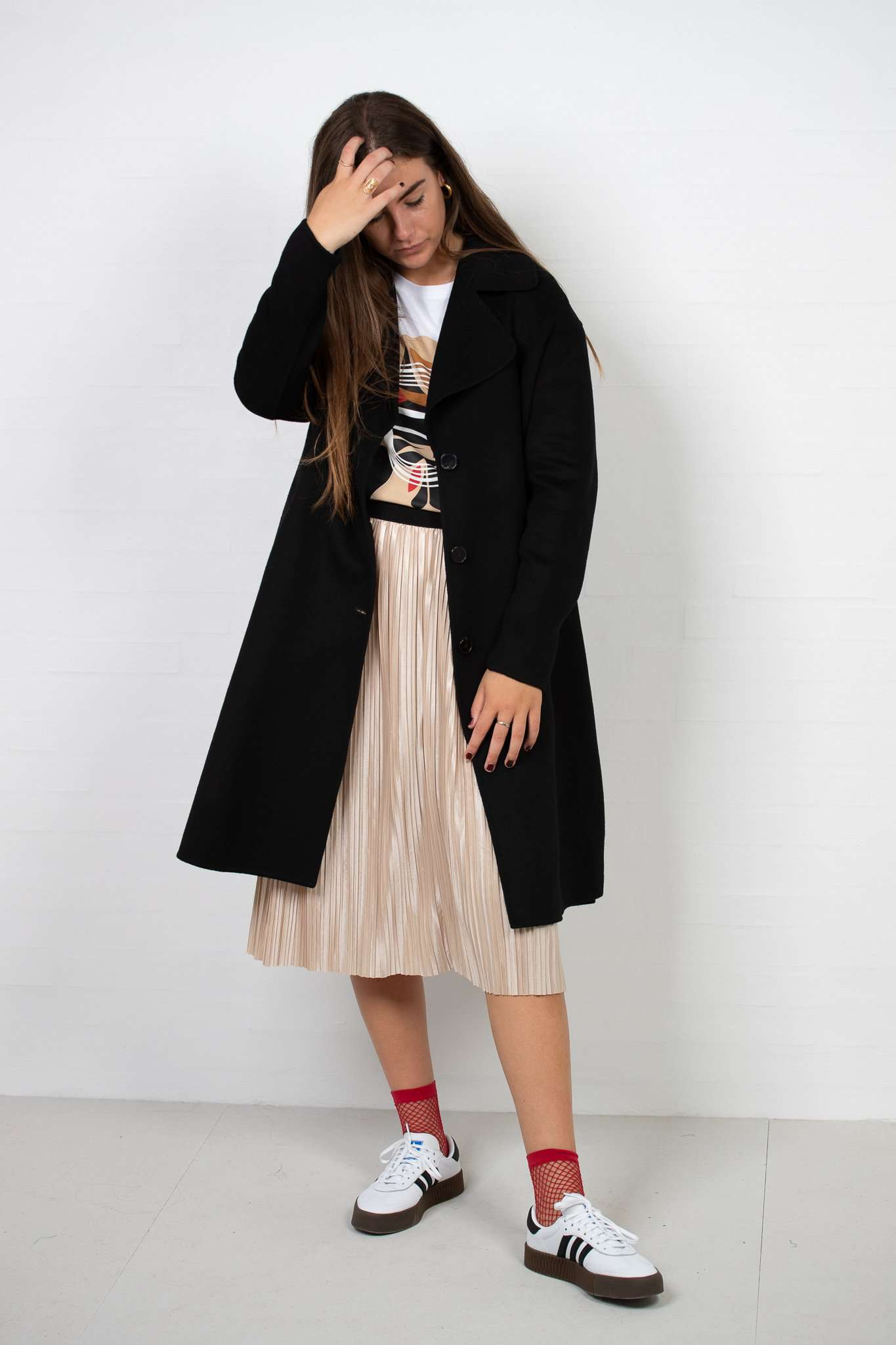 Image of   Oda Ida Coat - Sort - Sort M