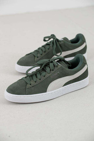 Suede Classic Wn's - Laurel Wreath/Dusty Green fra Puma 1