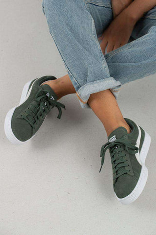 Suede Classic Wn's - Laurel Wreath/Dusty Green