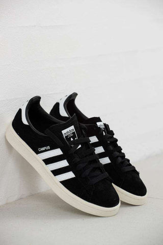 Adidas Campus BZ0084 - Sort fra Adidas Originals