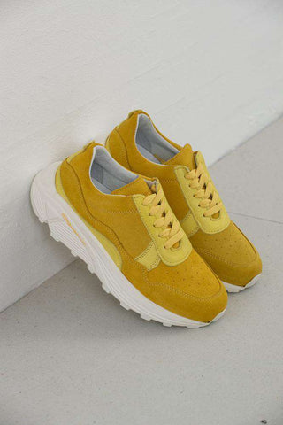 Bailey Runner - Light Yellow fra Garment Project