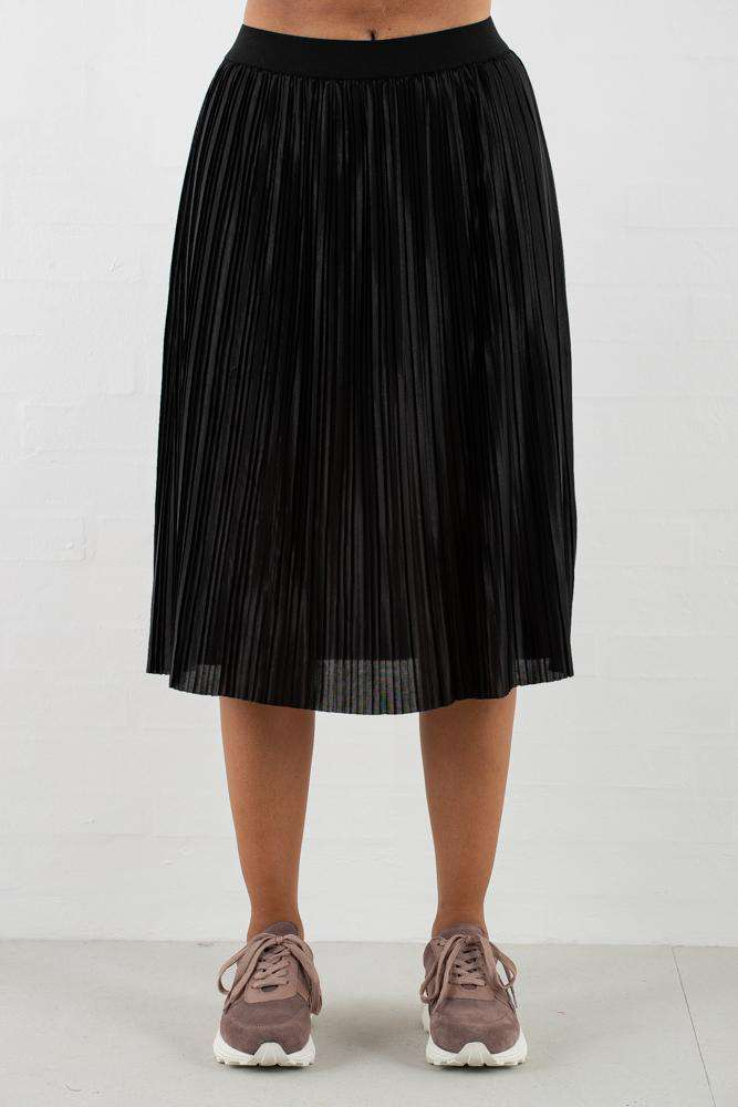 Penny Cecilie Skirt - Black - Sort XS