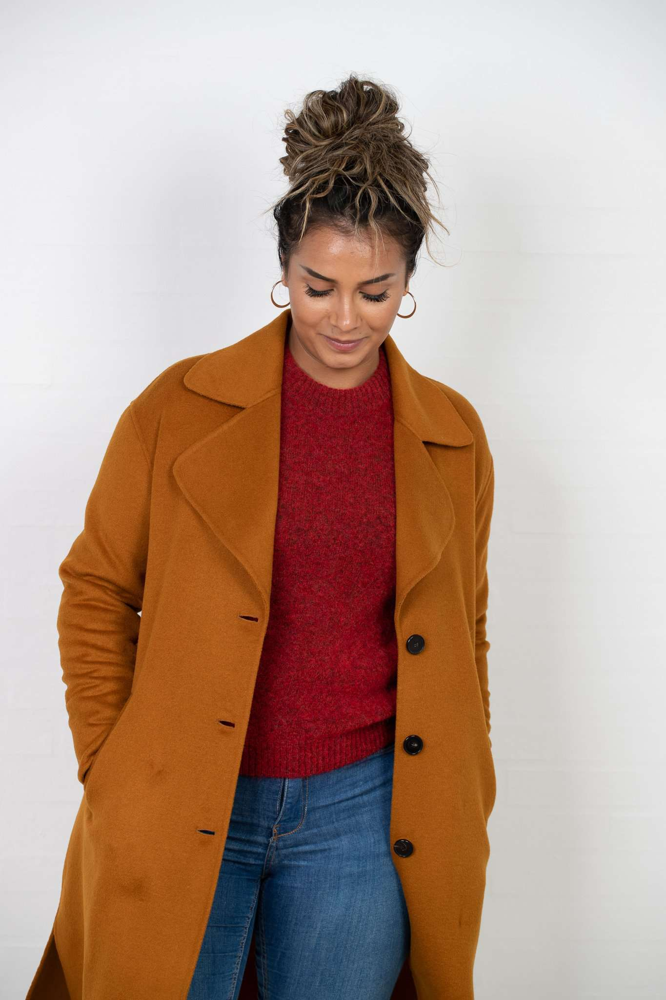 Image of   Oda Ida Coat - Spicy Mustard - Spicy Mustard XL